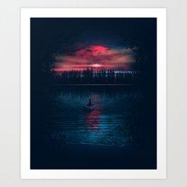 The World Beneath Art Print