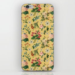 Garden flowers 3 iPhone Skin