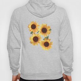 Happy Yellow Sunflowers Hoody