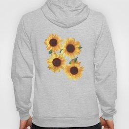 Happy Yellow Sunflowers Hoody