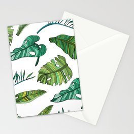 BANAN LEAVES Stationery Cards