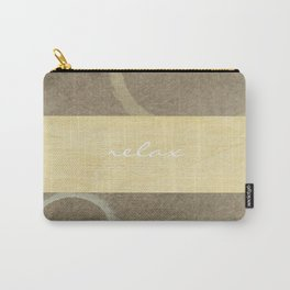 Relax Modern Art w/ Signature Carry-All Pouch