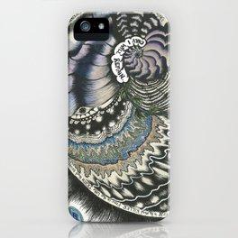 Golden Spiral (no fear) iPhone Case