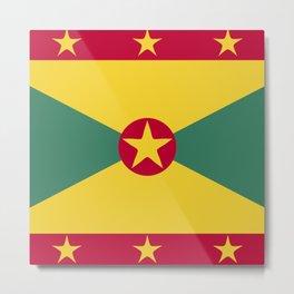 Greenada flag emblem Metal Print