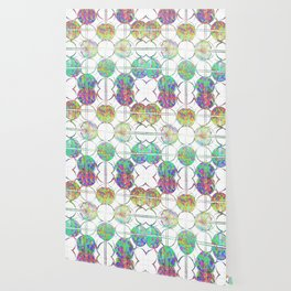 Refraction Tiles Wallpaper