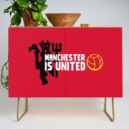Manchester Is United Credenza