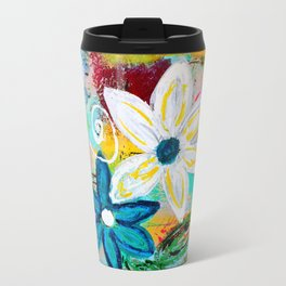 Loving Flower Garden Travel Mug
