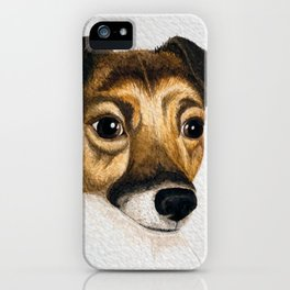 Alfie the Jack Russell iPhone Case