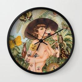 Summertime Escape  Wall Clock