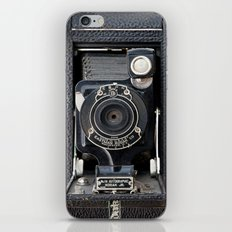 Vintage Autographic Kodak Jr. Camera iPhone Skin