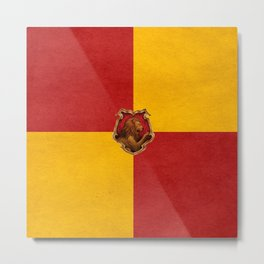 Gryffindor iPhone 4 4s 5 5c, pillow, case Metal Print
