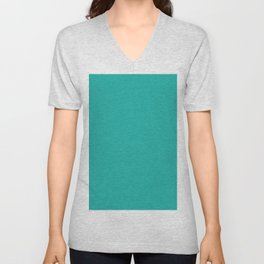 Light sea green Unisex V-Neck