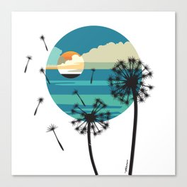 Almost Paradise Canvas Print