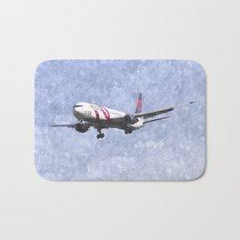 Delta Airlines Boeing 767 Art Bath Mat