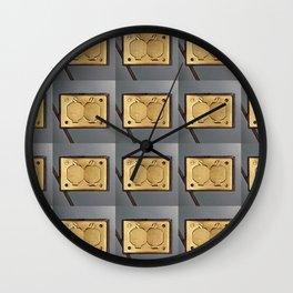 Socket to Me Wall Clock