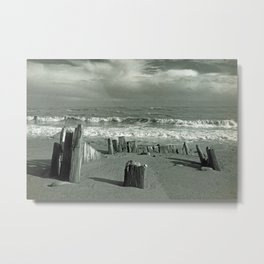 BEACH WORSHIP Metal Print