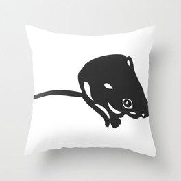 Scrutiny and Awareness Throw Pillow