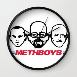 Meth Boys Wall Clock