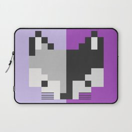 Mapache pixel Laptop Sleeve