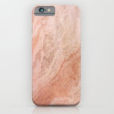 Polished Rose Gold Marble Slim Case iPhone 6