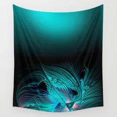 window curtain - fractal elegance -2- Wall Tapestry
