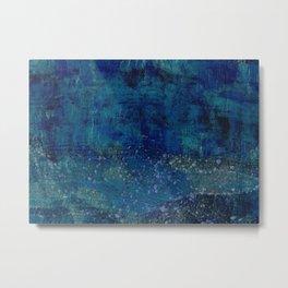 Turquoise Canyon Metal Print