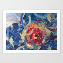 Tidal Bore II Art Print