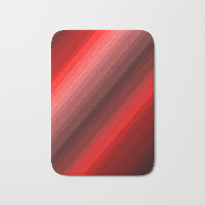 Red Now Bath Mat