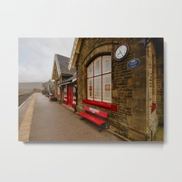 Ribblehead Station Metal Print