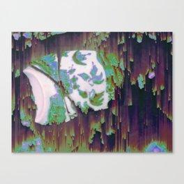 Verre brisé Canvas Print