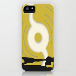Put The Needle On The Record iPhone Case
