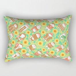 Sunflower Movement Rectangular Pillow