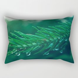 EVERGREEN TREE TWIG Rectangular Pillow