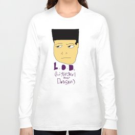 Lightskin over Darkskin Long Sleeve T-shirt
