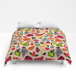 Fruity pattern Comforters