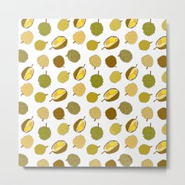 Durian Fruit Metal Print