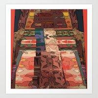 navajo Art Prints featuring Navajo by Jose Luis