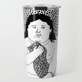 Botero - Woman in bath Travel Mug