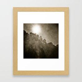 The Mist Framed Art Print
