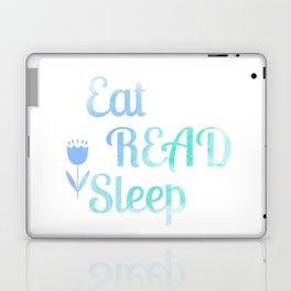 Eat.Read.Sleep Laptop & iPad Skin