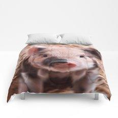 Sweet piglet Comforters