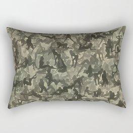Sexy girls camouflage Rectangular Pillow