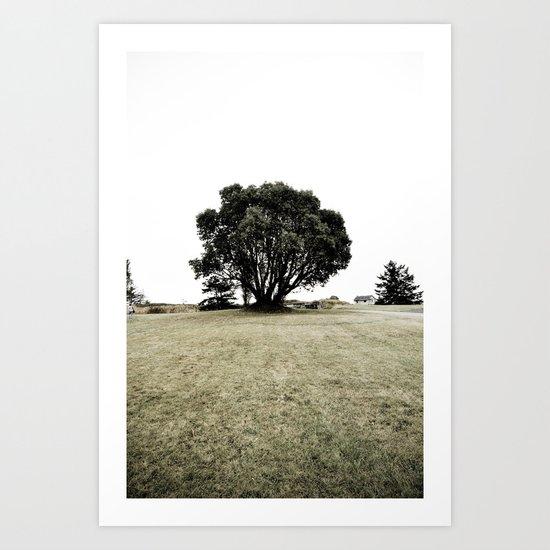 haunted (two) Art Print
