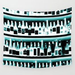 Wine Bottles - version 2 #decor #buyart #society6 Wall Tapestry