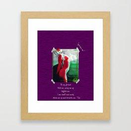 Spiritus Me Framed Art Print