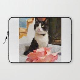 Orazio the charming cat Laptop Sleeve