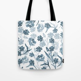 Paint it Blue Tote Bag