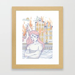 Break Up During the Day Framed Art Print