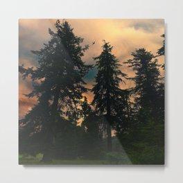 Autumn Twilight Metal Print