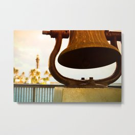 Inlet Bell View Metal Print